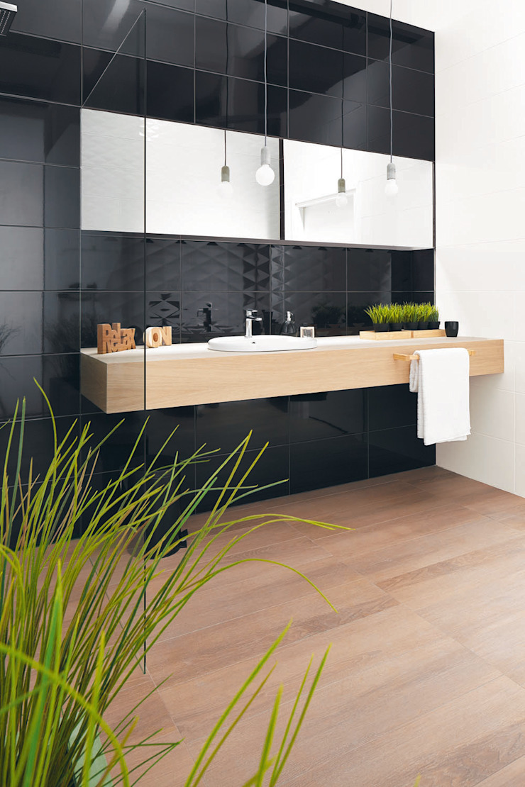 Ceramika Paradyż Minimalist style bathroom