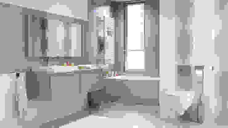 Kolekcja Midian Klasyczna łazienka od Ceramika Paradyż Klasyczny
