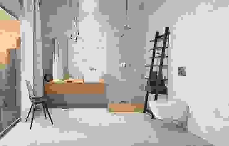 Kolekcja Nirrad Minimalistyczna łazienka od Ceramika Paradyż Minimalistyczny