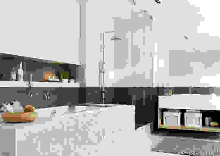 Kolekcja Antonella Nowoczesna łazienka od Ceramika Paradyż Nowoczesny
