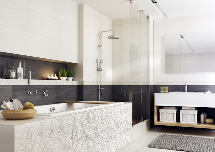 Modern Bathroom by Ceramika Paradyż Modern