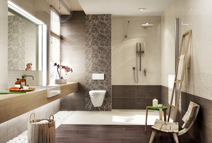 Modern style bathrooms by Ceramika Paradyż Modern