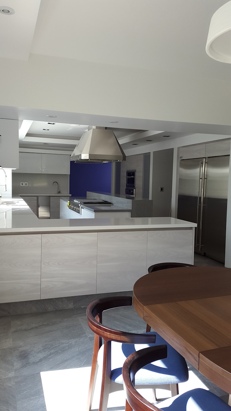 Capulín Cocinas modernas de InteriorEs Silvana McColgan Moderno