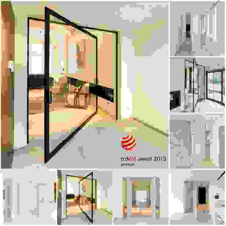 Taatsdeur concept zonder inbouwdelen in de vloer. van Anyway Doors Modern