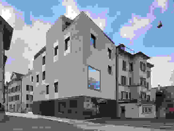 Stadthaus Englischviertelstrasse Minimalistische Häuser von Bob Gysin + Partner BGP Minimalistisch