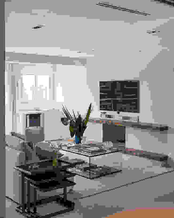 ED HOUSE Salas de estar minimalistas por Estúdio LAFLORENCE. Minimalista