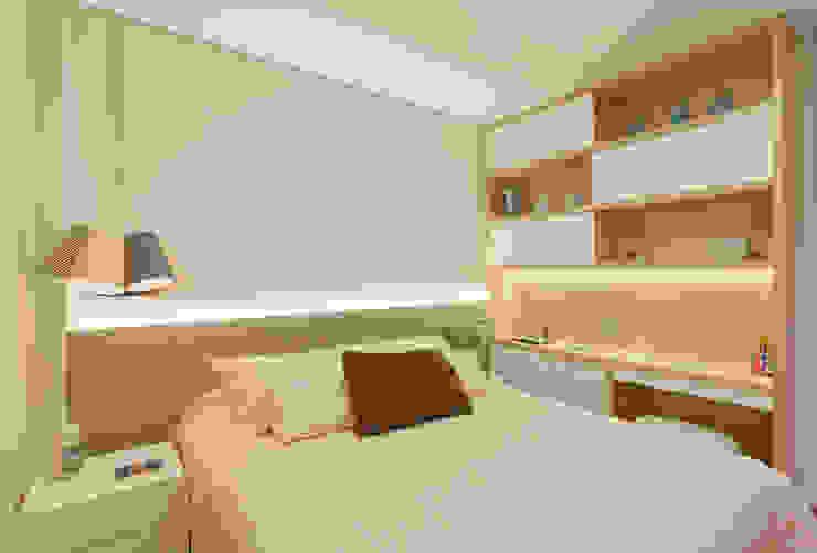 Apartamento .RF Quartos modernos por Amis Arquitetura e Decoração Moderno