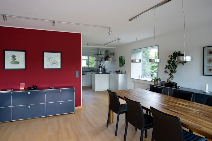 Dining room by AESCHLIMANN ARCHITEKTEN, Modern