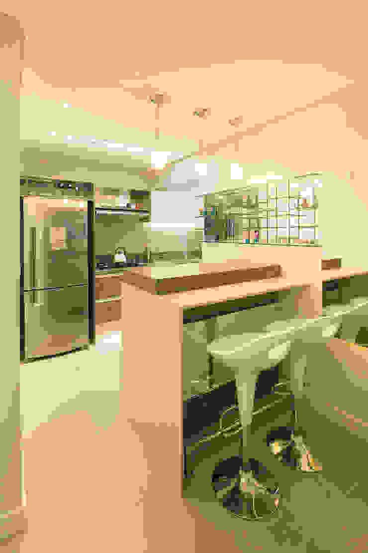 Ruang Makan Modern Oleh Caroline Vargas | C. Arquitetura Modern