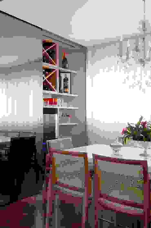 Sala de Jantar Adegas modernas por Jamile Lima Arquitetura Moderno