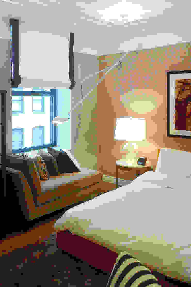 NYC. 5-th Ave Спальня в эклектичном стиле от KAPRANDESIGN Эклектичный