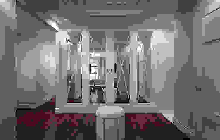 NYC. East 40th Street Коридор, прихожая и лестница в классическом стиле от KAPRANDESIGN Классический