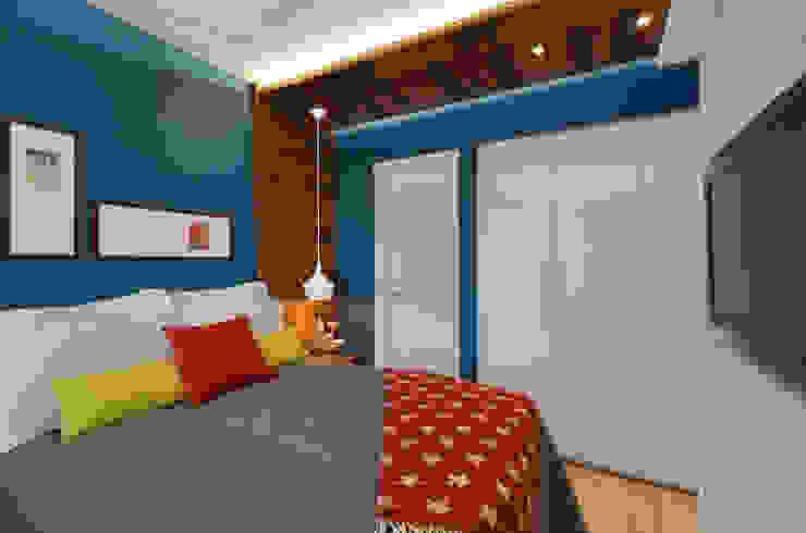 Kamar Tidur Modern Oleh CR Arquitetura&paisagismo Modern