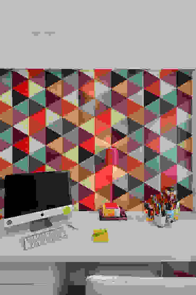 Ruang Studi/Kantor Modern Oleh CR Arquitetura&paisagismo Modern