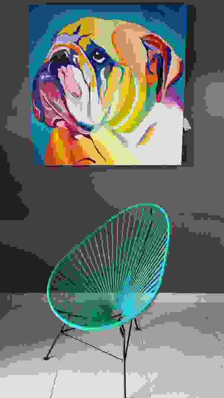 Sillas acapulco:  de estilo tropical por Diseñería 72ocho10, Tropical Plástico