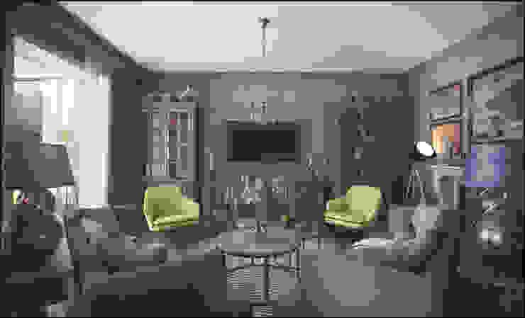 Projekty,  Salon zaprojektowane przez ToTaste.studio,