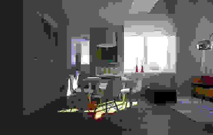 NYC. The silence Гостиная в стиле минимализм от KAPRANDESIGN Минимализм
