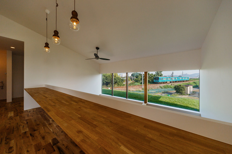 haus-turf 北欧デザインの 書斎 の 一級建築士事務所haus 北欧