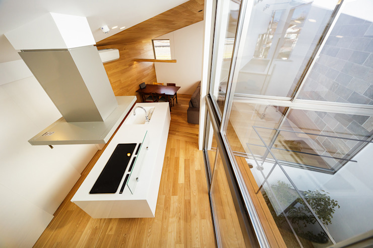 bent 北欧デザインの キッチン の 一級建築士事務所haus 北欧