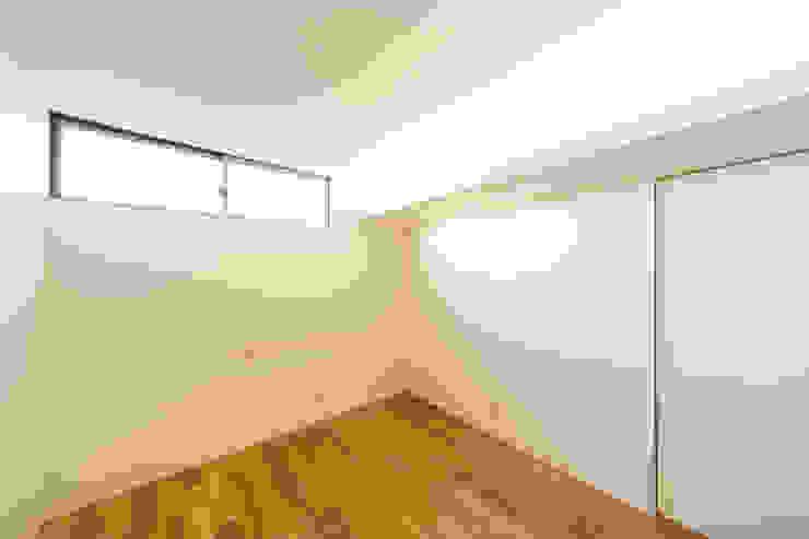 bent 北欧スタイルの 寝室 の 一級建築士事務所haus 北欧