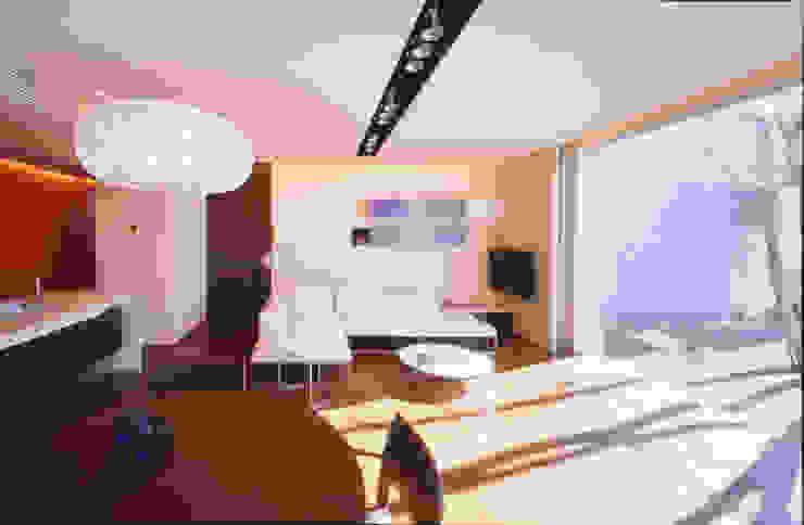 LDL | 百日紅の家 | RC造高級注文住宅 モダンデザインの リビング の Mアーキテクツ|高級邸宅 豪邸 注文住宅 別荘建築 LUXURY HOUSES | M-architects モダン