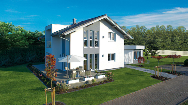 Houses by ELK Fertighaus GmbH, Modern