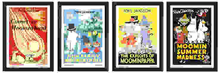Vintage Moomin posters por Moomin Escandinavo