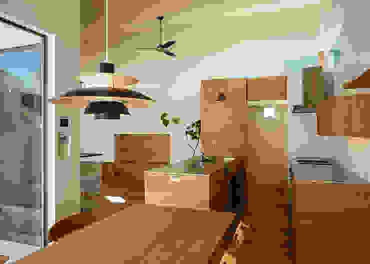 Cocinas de estilo escandinavo de 一級建築士事務所haus Escandinavo