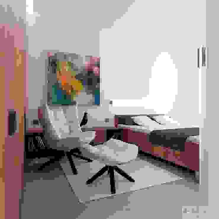 Dormitorios modernos: Ideas, imágenes y decoración de H+ Architektura Moderno