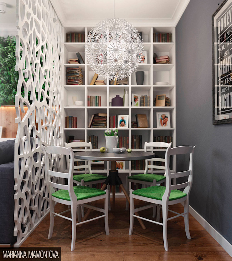 Oda Odessa Столовая комната в скандинавском стиле от Dizzy Interior Скандинавский