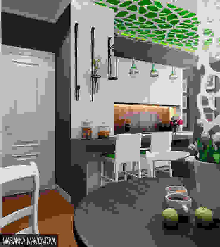 Skandynawska kuchnia od Dizzy Interior Skandynawski