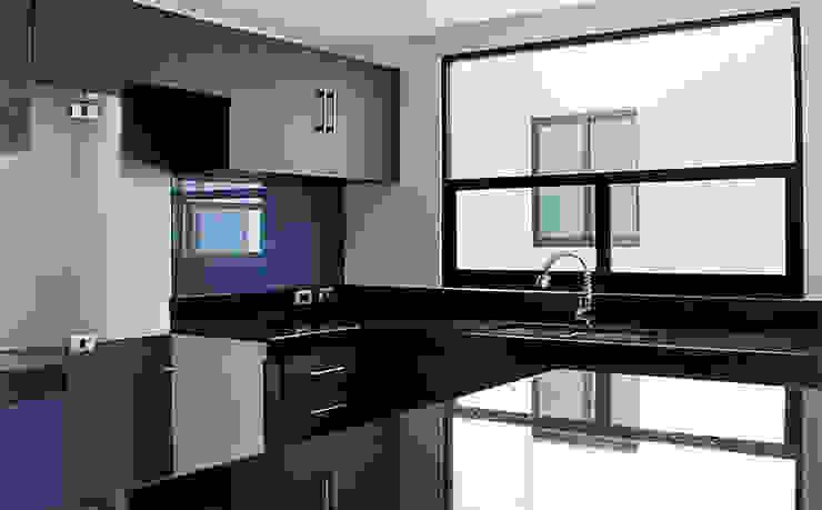 Vista Interior- Cocina Cocinas modernas de homify Moderno