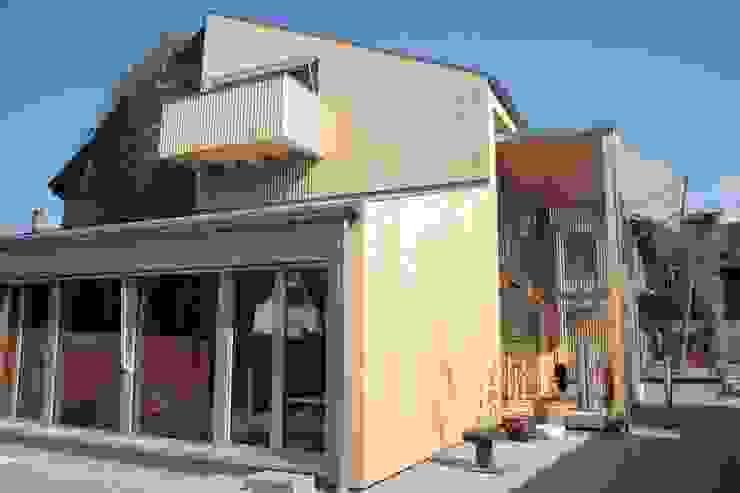 Westfassade Moderne Häuser von bb architektur gmbh Modern