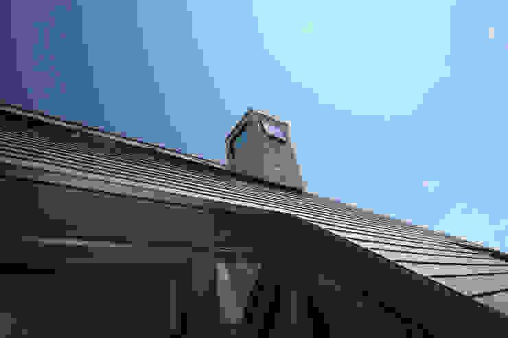 換気チムニー カントリーデザインの テラス の 一級建築士事務所 ヒモトタクアトリエ カントリー