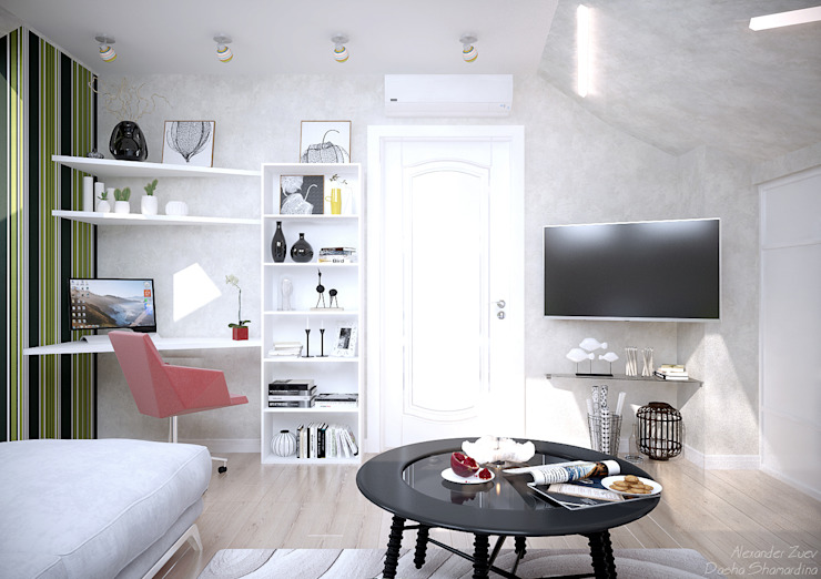 Scandinavian style nursery/kids room by Студия интерьерного дизайна happy.design Scandinavian