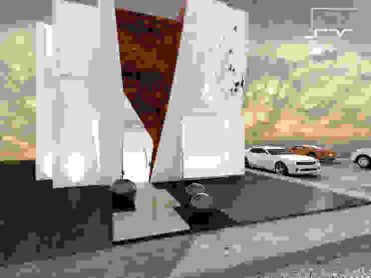 Moderne Häuser von Sergio Villafuerte -ARQUITECTOS- Modern