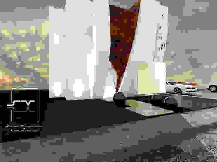 Casas modernas por Sergio Villafuerte -ARQUITECTOS- Moderno