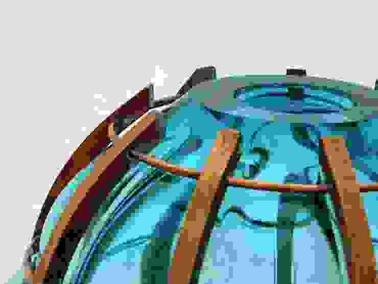 Caught in Copper (verkocht): modern  door Wowglass, Modern