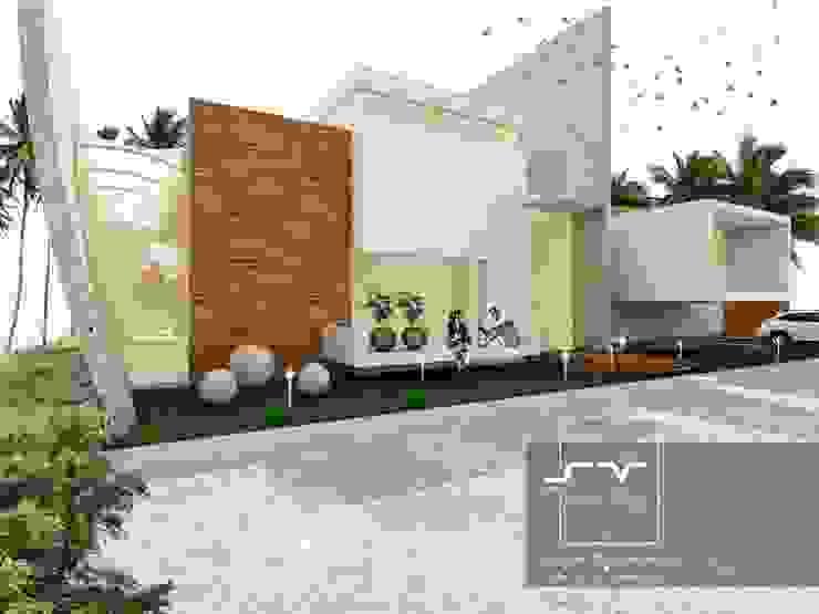 CASA ACAPULCO Casas modernas de Sergio Villafuerte -ARQUITECTOS- Moderno