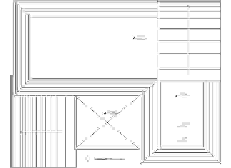 Planta 3 de Komoni Arquitectos Rústico