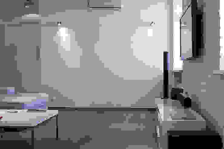 гостиная лофт от студия Дизайн Квадрат Лофт
