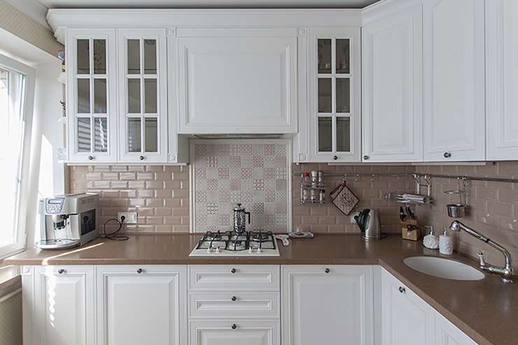 Кухня в американском стиле. от студия Дизайн Квадрат Классический