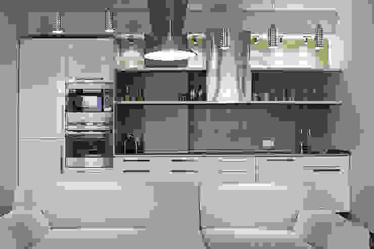 кухня лофт от студия Дизайн Квадрат Лофт