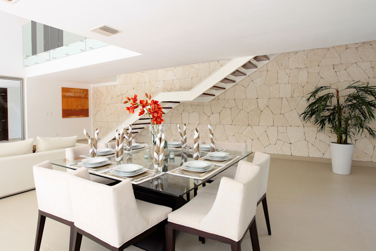 Modern Dining Room by Enrique Cabrera Arquitecto Modern