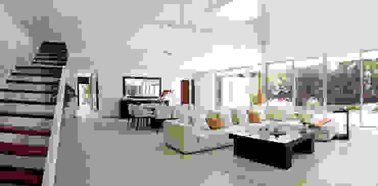 Гостиная в . Автор – Enrique Cabrera Arquitecto