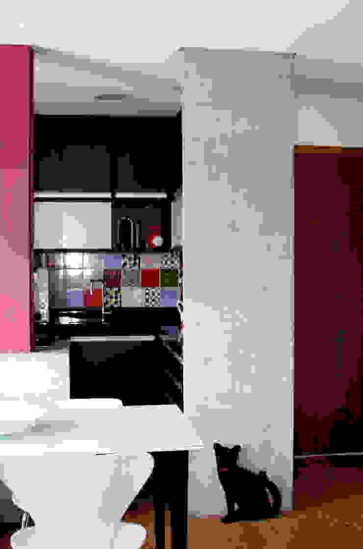 Espaços integrados 3 verso arquitetura Cozinhas modernas