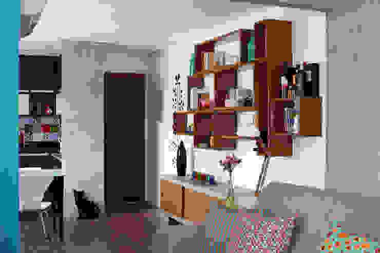 Espaços integrados 2 verso arquitetura Salas de estar modernas