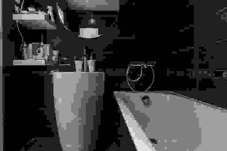 Ванная в скандинавском стиле. от студия Дизайн Квадрат Скандинавский
