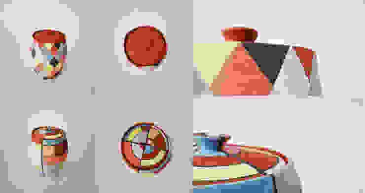 오색빛깔 옹기 항아리 : 하랑(HARANG ceramic studio) 의 아시아틱 ,한옥