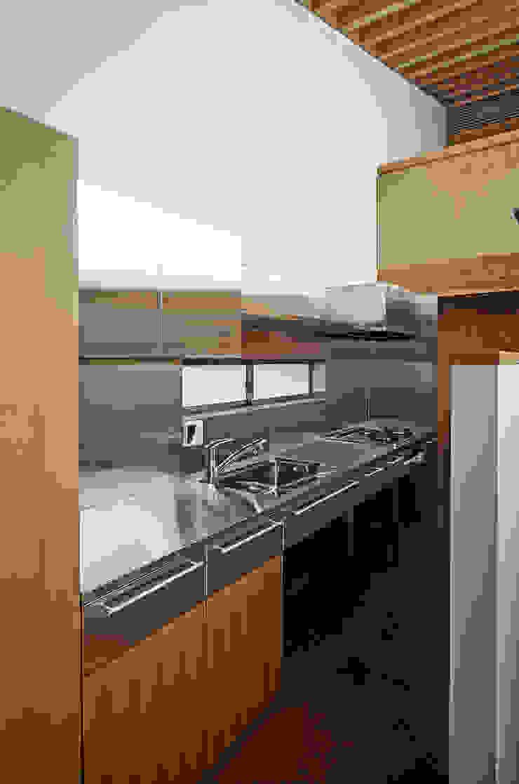 Nhà bếp phong cách chiết trung bởi 緒方幸樹建築設計事務所 Chiết trung